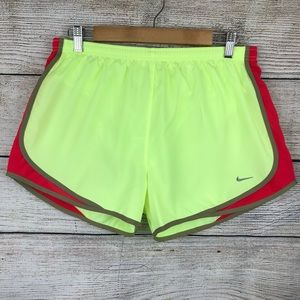 Nike dri fit athletic shorts with built in liner